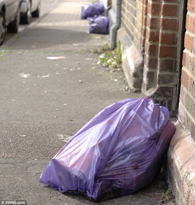 The ruling emerged after householders complained some of their rubbish was going uncollected. Council officials in Canterbury, Kent said the bags would only be picked up if the rubbish truck could drive directly to them