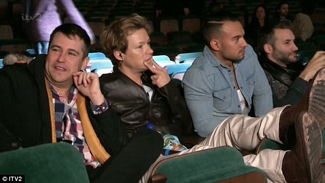 'Sloshed': 5th Story's Kavana was seen arriving drunk on the last day of rehearsals during Thursday night's episode of The Big Reunion, leaving the band far from happy