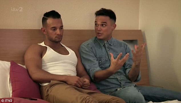 Not happy: The group are seen discussing if they could perform without Kavana
