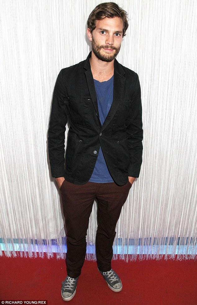 Leading man: Irish heartthrob Jamie Dornan will play Christian Grey in forthcoming film adaptation 50 Shades Of Grey
