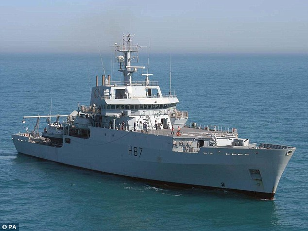 UK contribution: Survey ship HMS Echo is being sent to help with the search for MH370
