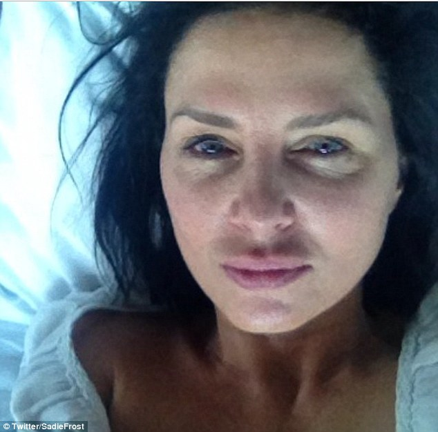 Delightful: Sadie Frost received lots of compliments when she posted her image online