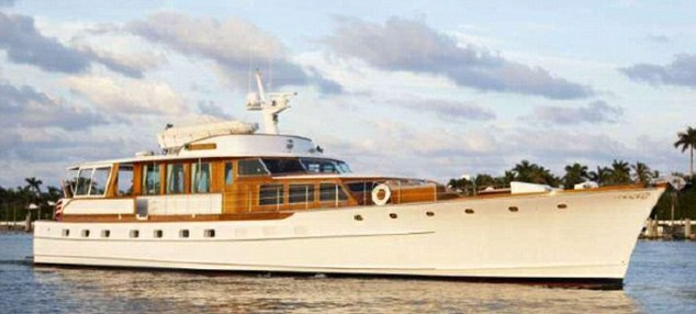 The couple not only owned a $1.2million yacht but also a $30,000 Lexus and beach property in Florida