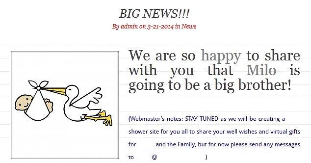Big news! Alyssa shared this message on her personal website Alyssa.com last month