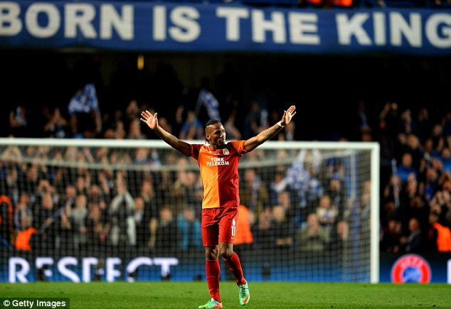Return of the King: Droga was overwhelmed by the reception he received at Stamford Bridge