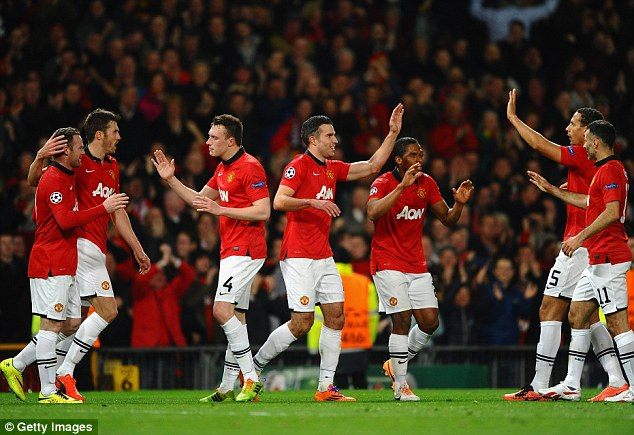 Greek tragedy: despite beating Olympiakos, Manchester United are not fancied to get past the quarters