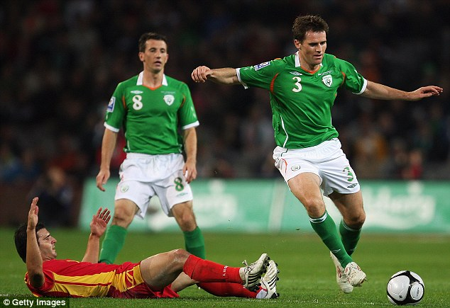 Just enjoy it! Kilbane was relieved that the qualifier against Montenegro had no bearing on the World Cup group
