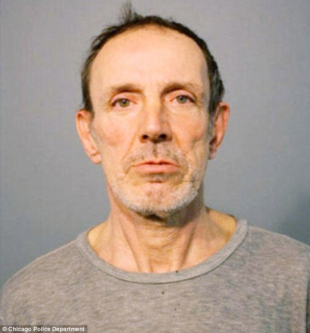 Felon: 59-year-old Joseph Firek has a lengthy criminal record and was out on parole when he attacked Tingling