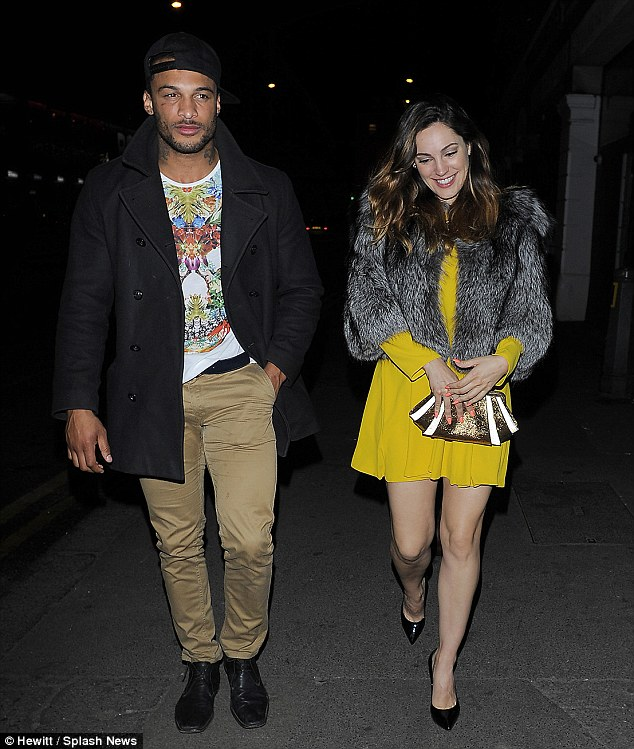 Fast moving: The pair are thought to have got together at a New Year's Eve party at her bar Steam & Rye