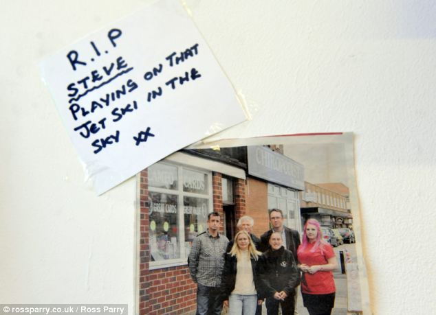 A tribute to Mr Campbell. His family are now having to raise £30,000 in order to bring the barber's body home