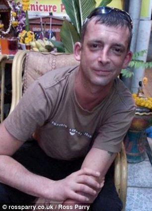Stephen Campbell, picutred in Thailand where he sadly passed away after a jet ski accident
