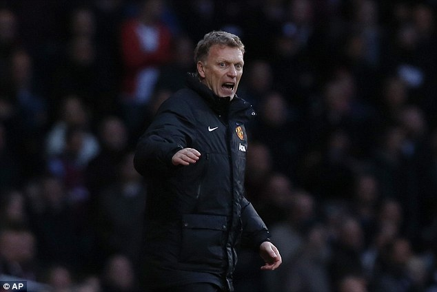 On the road: Moyes's won their third consecutive away game for the first time this season in the league