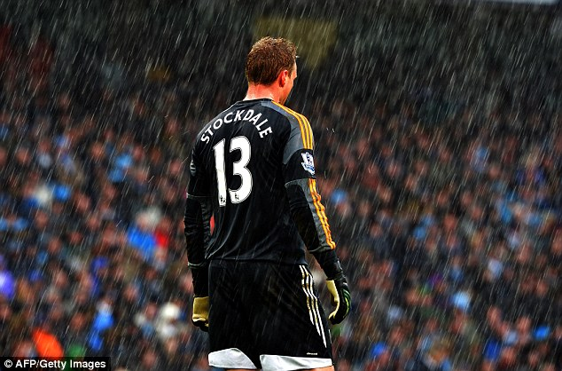 Why does it always rain on me: It was a tough day for Fulham keeper David Stockdale