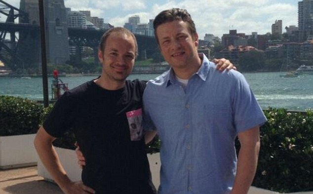 Jamie has been freinds with Tobie Puttock, who appears with him in the new show, for 15 years