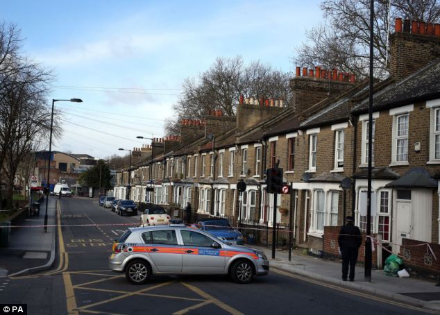 Investigation: A 15-year-old has been charged with murder Scotland Yard confirmed