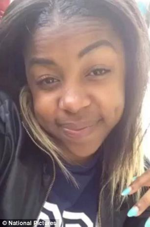 Tragic: Shereka Marsh has been named online as the victim of the shooting in Hackney Wick, East London