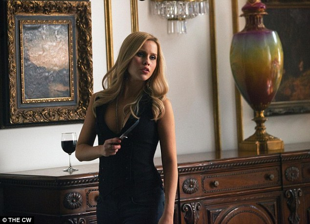 Vanishing vampire: Clarie Holt  (pictured in character as Rebekah Mikaelson on The Vampire Diaries)  quit a spin off show, The Originals
