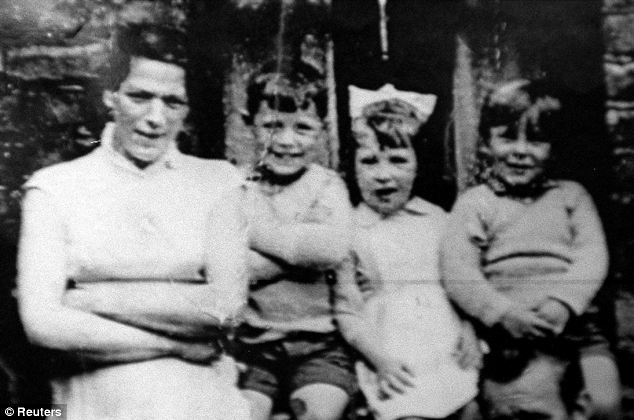 Mother-of-ten Jean McConville, 37, (left) was abducted from her Belfast home and shot in 1972