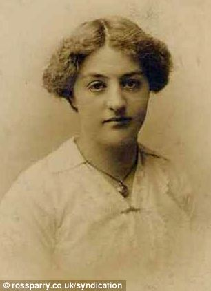 Henry Coulter, who signed up with the 17th (Leeds) Battalion West Yorkshire Regiment in the spring of 1915, wrote dozens of love letters to his girlfriend Lucy Townend (pictured), signing them 'Yours for Eternity, Henry'
