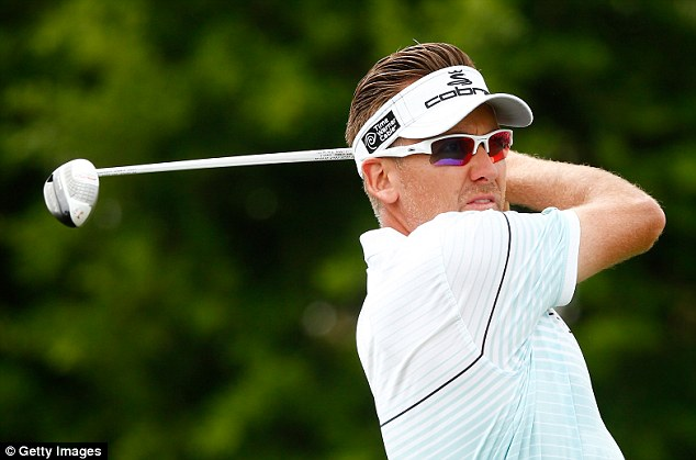 Anti-climax: England's Ian Poulter finished with a 76 after a quadruple bogey eight at the 11th hole