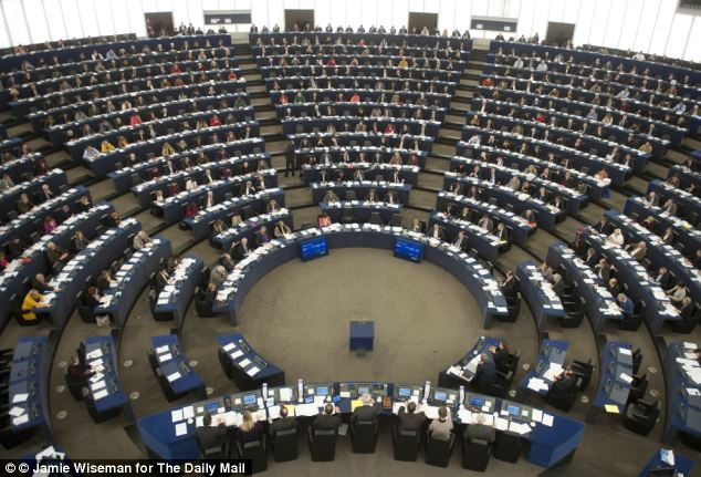 The European Parliament came fourth from bottom in a league table of 27 'liked' countries and institutions