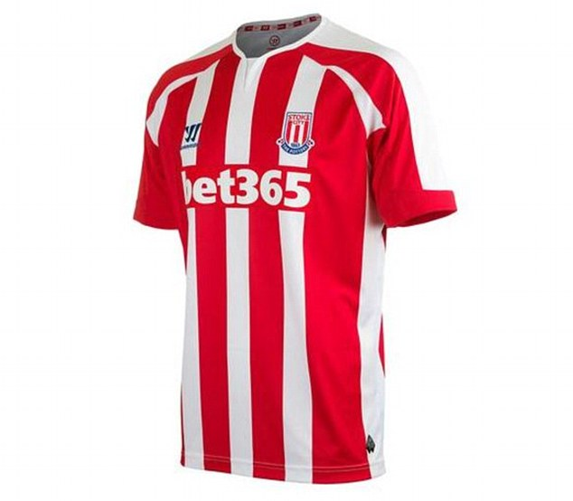 Stoke will become the second team to sport the Warrior logo next season alongside Liverpool, whose deal with the American brand is worth £25million