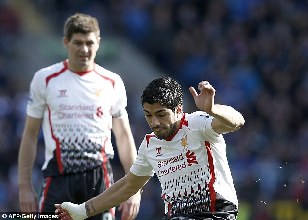 Best season in years: Liverpool lie just four points behind Chelsea with a game in hand at the top of the league