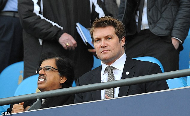 No chance: Director David Haigh has said that the club definitely won't go into administration