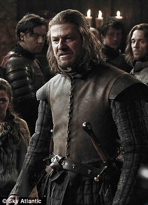 Game of Thrones with Sean Bean as Eddard 'Ned' Starkon