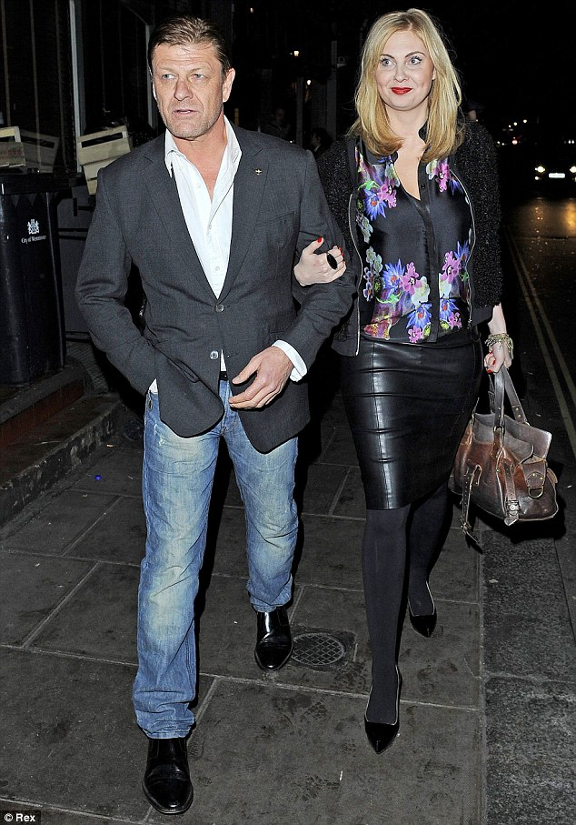 Couple: Sean Bean, who has been married four times, is reportedly dating actress Ashley Moore, 29