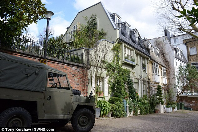 Desirable neighbourhood: Mr Bean, who bought his four-bedroom home in 1998, launched an appeal against the latest refusal on March 13