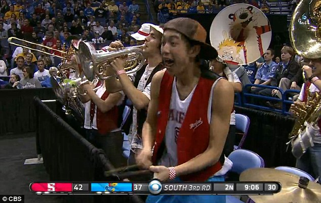 Cowbell guy's impressive moves quickly inspired a host of online chattered and at least two Twitter handles