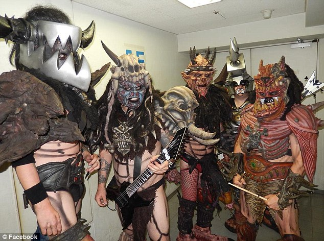 The band: GWAR, founded by Brockie in 1984, gained international fame for their outrageous stage show, gory costumes and wild personas