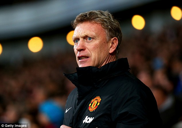 Looking forward: David Moyes wants United to step up and prove themselves against Manchester City