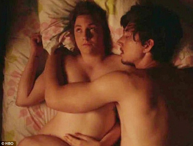 There are limits: The 46-year-old said that he and Lena Dunham, the star and co-executive producer of Girls,  had been warned that some of the sex scenes they wanted to show 'could lose HBO its licence'