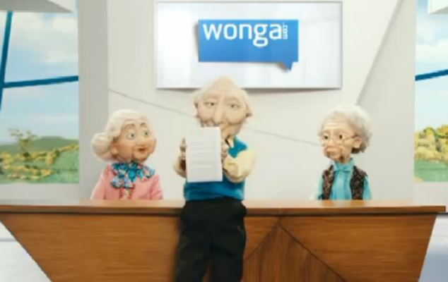 Payday lender Wonga has been criticised for using puppets which appeal to children in its advertising