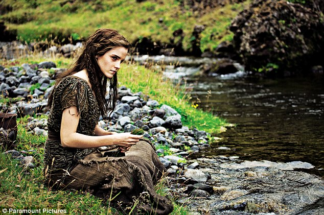 New role: Emma plays Ila, the wife of Noah's son Shem, in the forthcoming movie