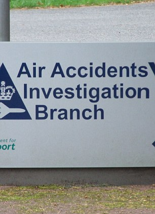 Britain's Air Accidents Investigation Branch was also involved in the analysis