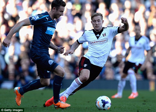 Doubt: Holtby will return to Spurs at the end of the season but his future is uncertain