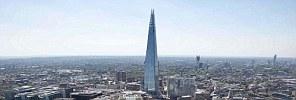 The Shard, a 72-storey skyscraper in London