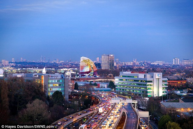 Vision: The Octopus has been put up for sale for £120million and will be built near Chiswick Roundabout