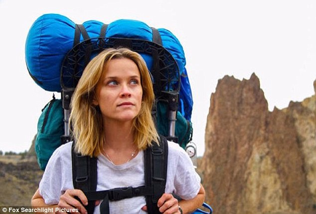 Taking method acting to a whole new level! In upcoming film Wild, the actress went without hair styling, make-up and mirrors in order to stay true to Cheryl Strayed's story, in which she ruffed it as she hiked more than 1000 miles along the Pacific Coast Trail