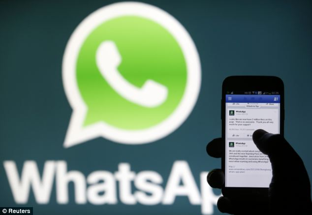 Spanish doctors claim they have found the first case of 'whatsappitis' caused by repeated use of the messaging app.
