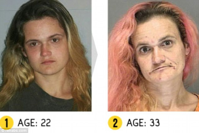 Linda was first arrested at the age of 22. She was arrested five times after that for various offences, including drug-related crimes