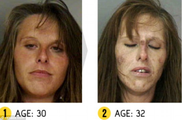 Crystal was arrested four times in 2011 alone and was charged with possession of cocaine every time. Her most recent arrests included charges for possession of cannabis, prostitution and theft.