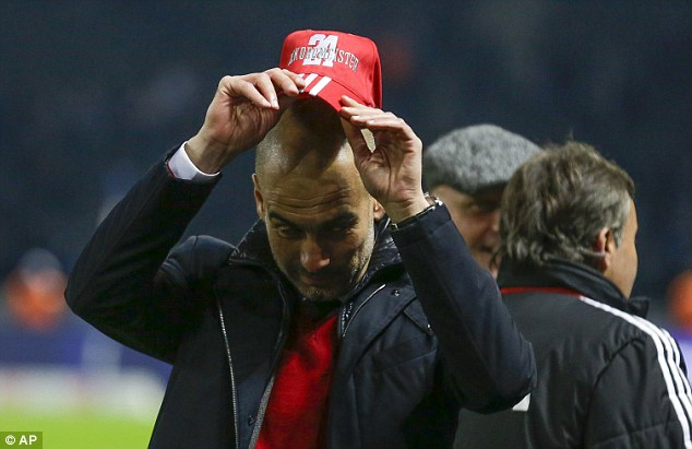 The Man Who: Pep Guardiola has been credited with making Bayern an even greater irresistible force