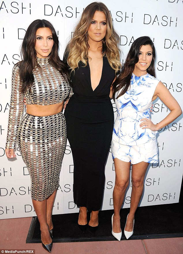Sisters: Kourtney & Khloe Take The Hamptons is just the latest in a string of spinoffs from popular Keeping Up With The Kardashians and no doubt Kim, pictured left with her siblings on March 12, will want to visit