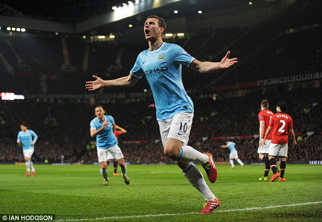 Too easy: City barely moved out of second gear as they smashed United 3-0 at Old Trafford