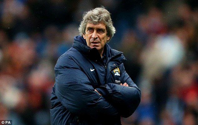 Almost: Manuel Pellegrini has had a good start to his City career but not quite like Wilcox