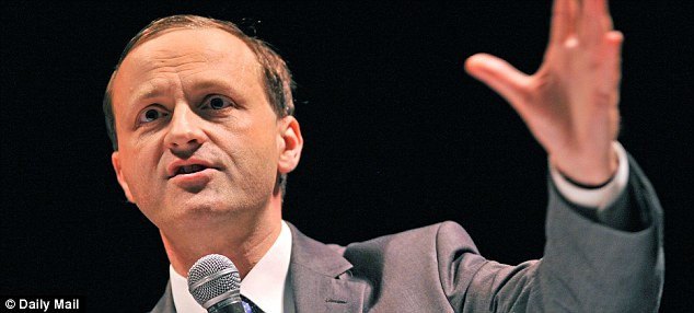 Announcement: Steve Webb said charges on auto-enrolment pension schemes would be capped at 0.75%.